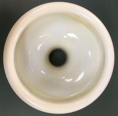 Speibecken | Spuckbecken | Expektorierbecken aus Zahnarzstpraxis | Opalglas