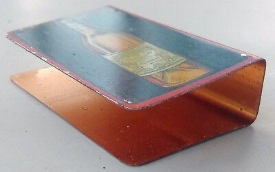 protège boîte allumettes Vermouth Briol en métal lithographié 5