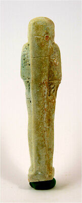 Egypt Late period 28/30th dynasty faience ushabti of Ptah-Hotep. 2