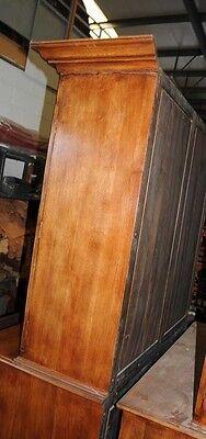 Oak Linen Cabinet Drinks Chest Farmhouse Furniture 8