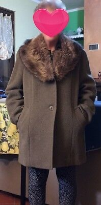 Cappotto Donna Carnevali - Pura Lana Vergine - Verde