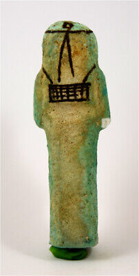 Egypt TIP 21/22th Dynasty blue faience shabti of Pa-Di-Khonsu 2