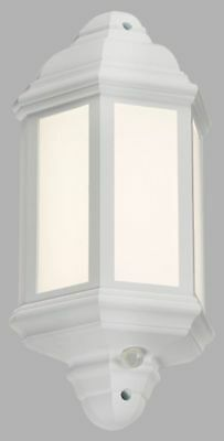 Knightsbridge LANT3 230V IP54 LED Half Wall Lantern