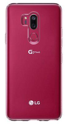 COVER CUSTODIA in TPU + PELLICOLA in VETRO TEMPERATO Per LG G7 ThinQ G6 Q6