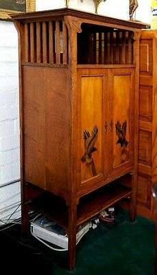 Unusual Oak Arts & Crafts Cabinet c. 1910 #119 4 • £3,111.99