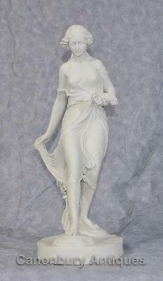 Classical Italian Stone Stepping Stone Maiden Statue Art 2