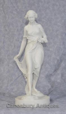 Classical Italian Stone Stepping Stone Maiden Statue Art 2