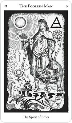 The Hermetic Tarot By Godfrey Dowson 78 Cards Deck + 70 Page Instruction Booklet 2