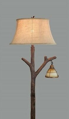 Tree branch floor lamp rustic cabin lodge decor glass lantern night tree branch floor lamp rustic cabin lodge decor glass lantern night light mozeypictures Choice Image