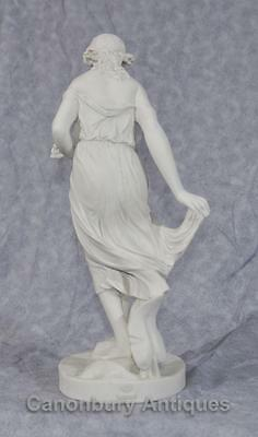 Classical Italian Stone Stepping Stone Maiden Statue Art 3