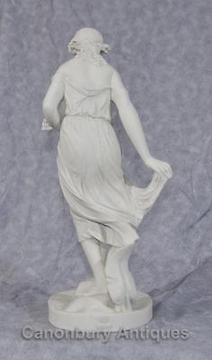 Classical Italian Stone Stepping Stone Maiden Statue Art 3
