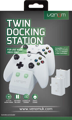 Venom Xbox One Twin Charging Station with 2 Rechargeable Battery Packs - White 7