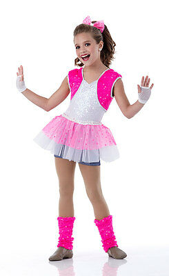 BUBBLELICIOUS Leg Warmers Ballet Hip Hop Jazz Acro Dance Costume Adult Large