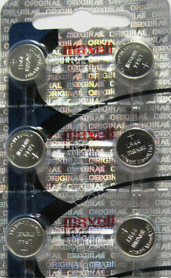 10 PACK MAXELL LR44 A76 L1154 AG13 357 157 303  New Alkaline Battery 2
