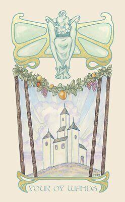 Ethereal Visions An Illuminated Tarot Deck by Matt Hughes 80 Cards 5