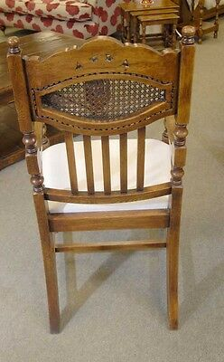 8 English William Mary Rustic Dining Chairs Barley Twist 10