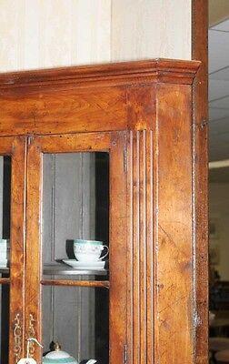 Farmhouse Cherry Wood Corner Cabinet Display Bookcase 3 • £1,435.50