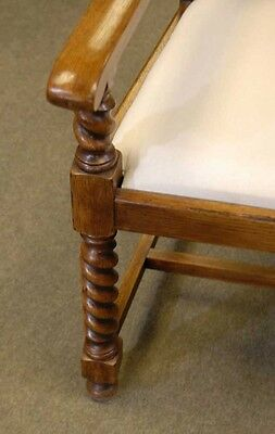 8 English William Mary Rustic Dining Chairs Barley Twis 6 • £2,450.00