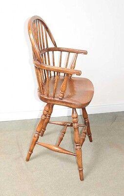 Oak Windsor Bar Stool Chair Windsor Chairs Farmhouse 6