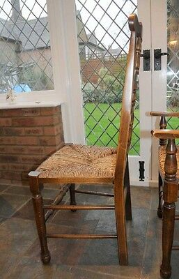 Set 6 Spindleback Kitchen Dining Chairs Spindle 6