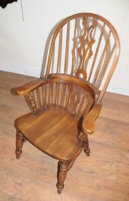 Set 6 Windsor Arm Chairs Armchairs Oak Farmhouse 10 • £2,400.00