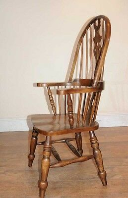 Set 6 Windsor Arm Chairs Armchairs Oak Farmhouse 9 • £2,400.00