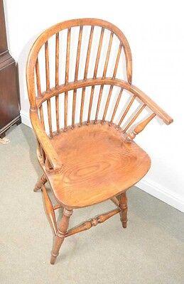Oak Windsor Bar Stool Chair Windsor Chairs Farmhouse 4