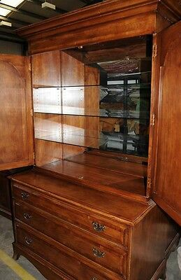 Oak Linen Cabinet Drinks Chest Farmhouse Furniture 2 • £1,995.00