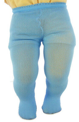 """15/"""" Doll Clothes Light Blue Tights fits Bitty Baby Accessories"""