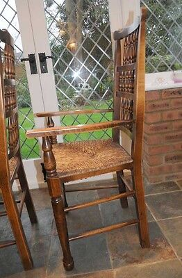 Set 6 Spindleback Kitchen Dining Chairs Spindle 4