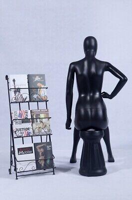 FC-7W abstrakt weiblich Schaufensterpuppe weiß matt mit Kopf Frau elegant neu