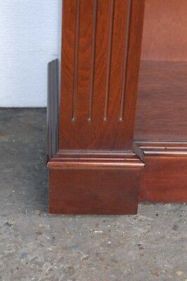 Classic Regency Sheraton Inlay Open Bookcases Book Case 6