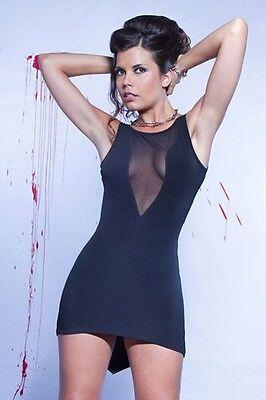"Robe courte libertine sexy référence Alvina "" P'tites Folies "" de Catanzaro 3"