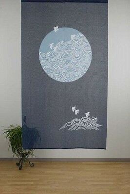 1 Of 5 New NOREN Japanese Door Curtain Tapestry MARUNI CHIDORI 85 X 150cm