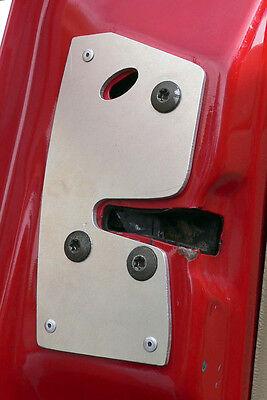Jeep Grand Cherokee (ZJ) 93-98 DRIVER door latch repair & reinforcement plate 7