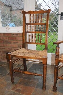Set 6 Spindleback Kitchen Dining Chairs Spindle 12