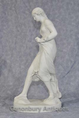 Classical Italian Stone Stepping Stone Maiden Statue Art 4