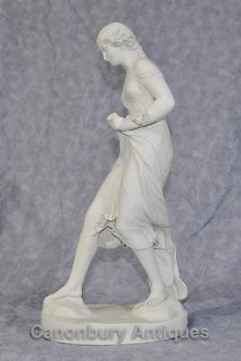 Classical Italian Stone Stepping Stone Maiden Statue Art 4
