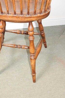 Oak Windsor Bar Stool Chair Windsor Chairs Farmhouse 5