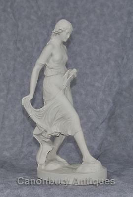 Classical Italian Stone Stepping Stone Maiden Statue Art 11