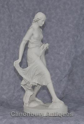 Classical Italian Stone Stepping Stone Maiden Statue Art 11
