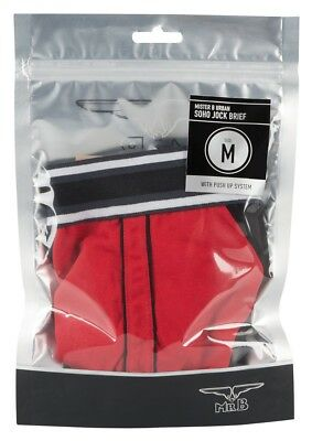 Slip Uomo Mister B URBAN Soho Jock Brief Red Black Sexy Intimo maschile erotic
