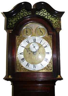 John Ellicott Striking Longcase Clock 2