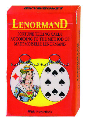 Mlle Lenormand Oracle 36 Cards Deck Esoteric Fortune Telling Agm New