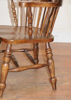 Set 6 Windsor Arm Chairs Armchairs Oak Farmhouse 2 • £2,400.00