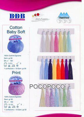 Gomitolo Cotton Baby Soft Cotone Egiziano Bbb Titanwool Per Ferri E Uncinetto 2