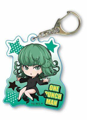 One-Punch Man Leather Key Ring Tornado of Terror Tatsumaki Japan