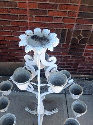 Rare Vintage Molla Tiered Garden Plant Stand Planter WILL SHIP 4