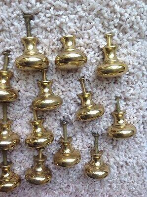 Vintage Brass Door Knobs Hardware 4