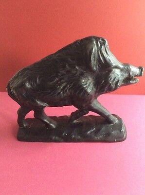 Wildschwein aus Eise-Guss 2